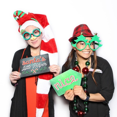 Plastic Photo Booth Props<br />Christmas Set